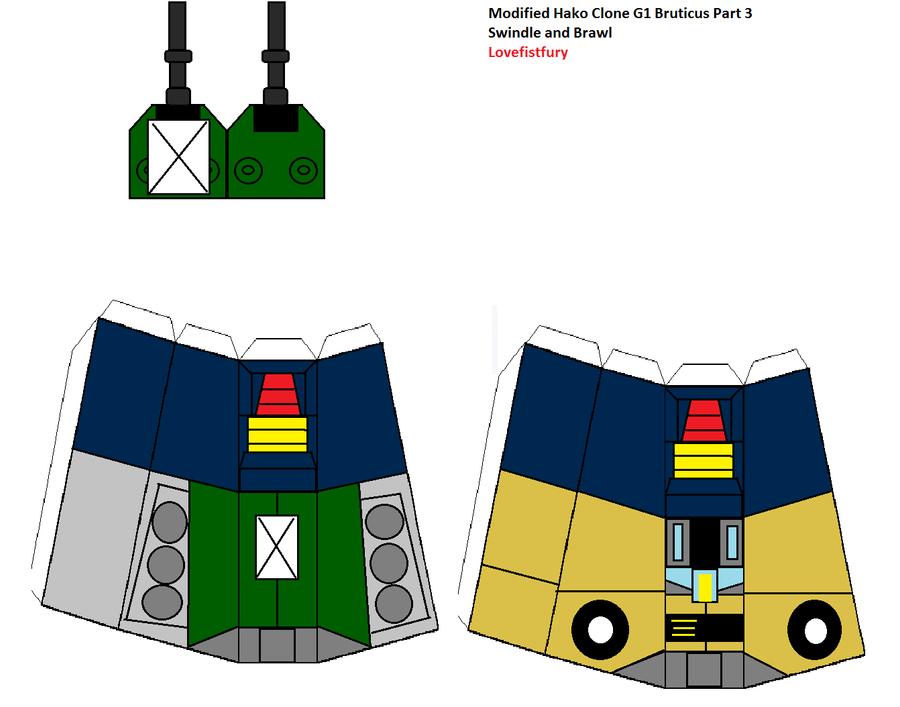 G1 Bruticus modifed Hako clone part three by lovefistfury