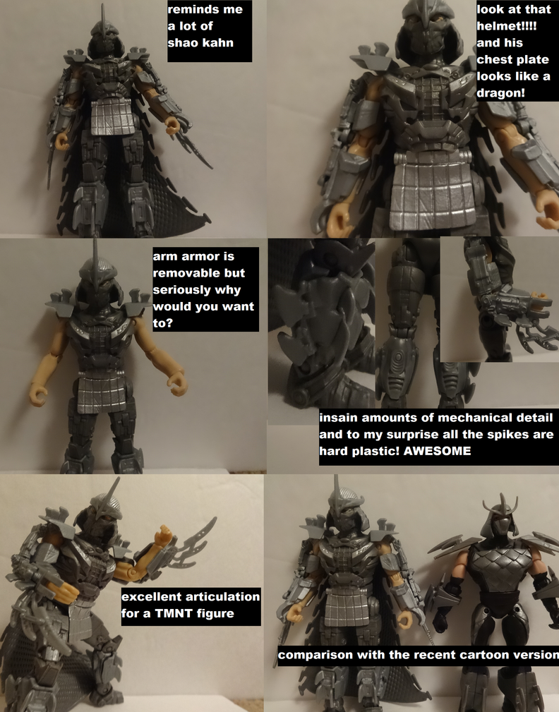 tmnt movie shredder review by lovefistfury on deviantart