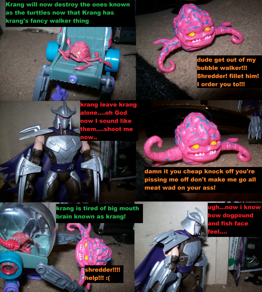 Krang problem part one by lovefistfury