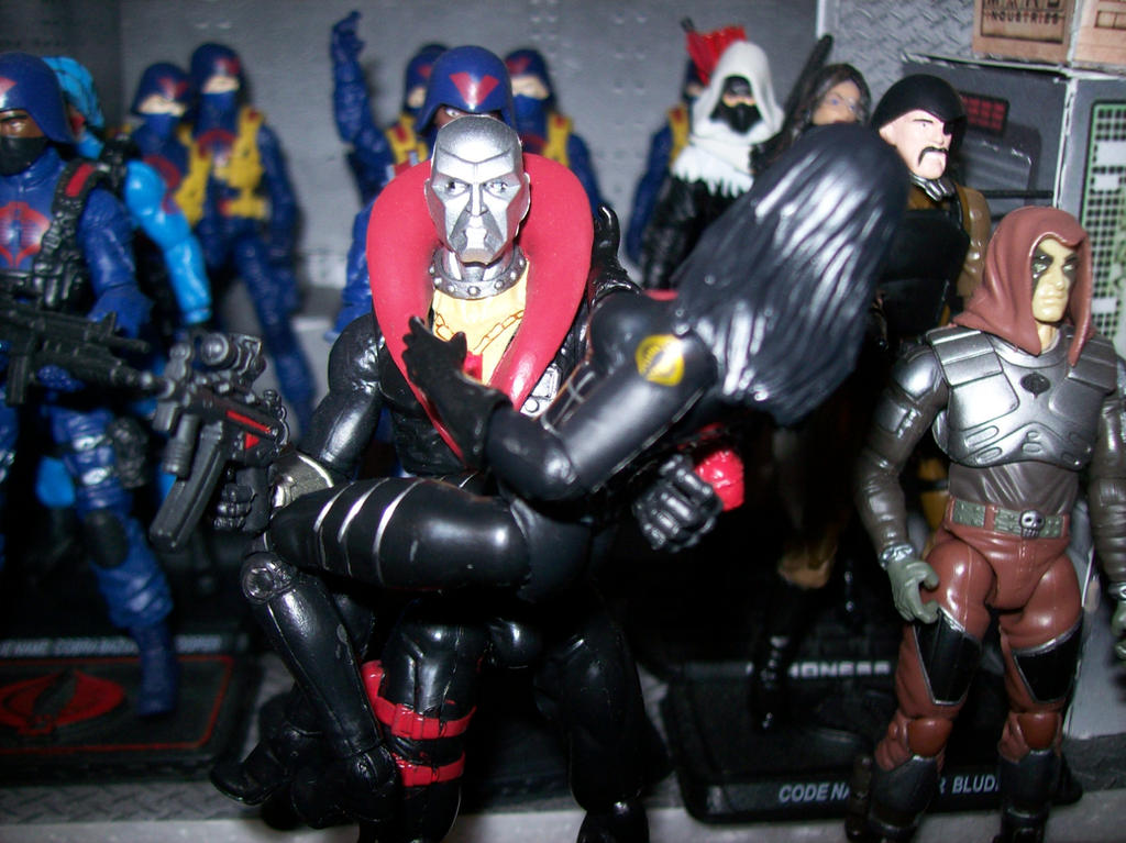 50th anniversary Destro and baroness by lovefistfury