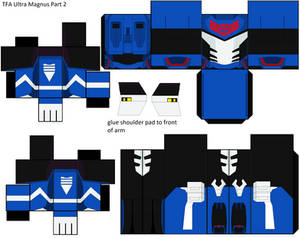 TFA Ultra Magnus Cubee Part two