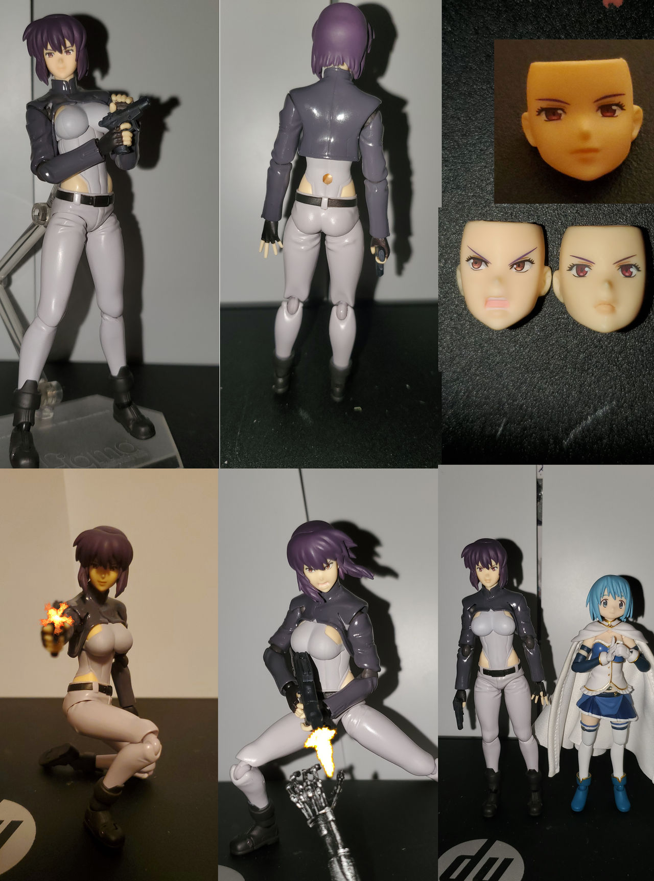 Figma Ghost In The Shell Motoko Review By Lovefistfury On Deviantart