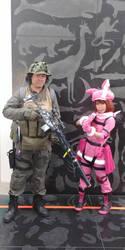 M and Llenn by SailorPhantom