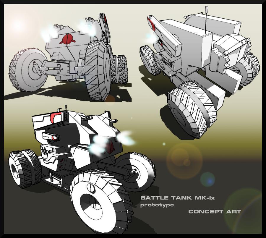 Battle Tank MK-Ix concept...