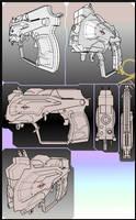 STERK pistol -concept art
