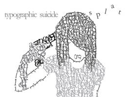 Typographic Suicide