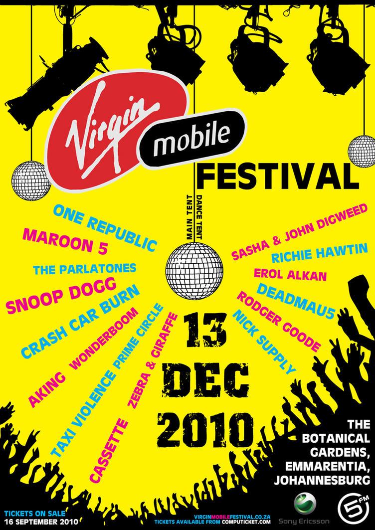 usa festival Virgin mobile