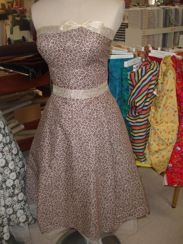Strapless Dress Num.2 by Lady-Lorien