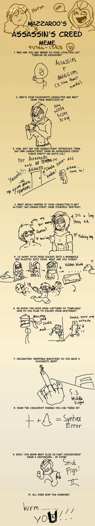 Assassin's creed meme FAIL by putraxxx