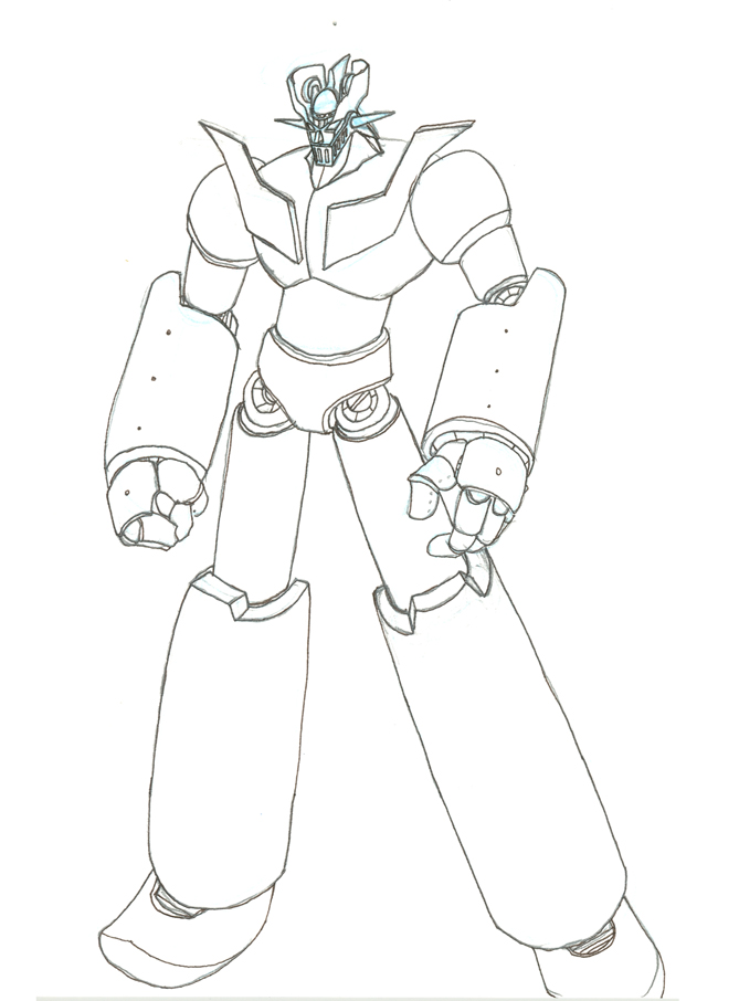 Mazinger Z Colorear Related Keywords Suggestions