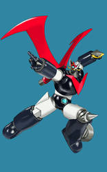 Great Mazinger Study - Rendered by Shin-Ian