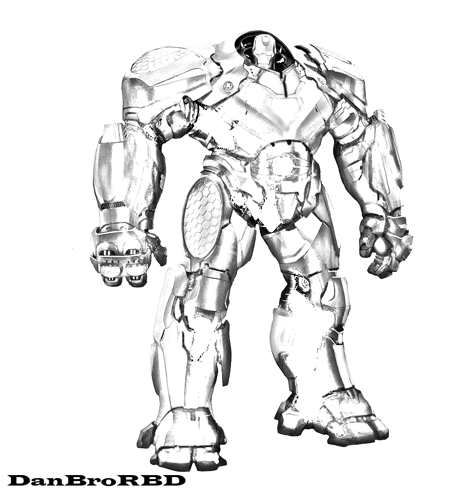 Hulkbuster By DanBroRBD On DeviantArt