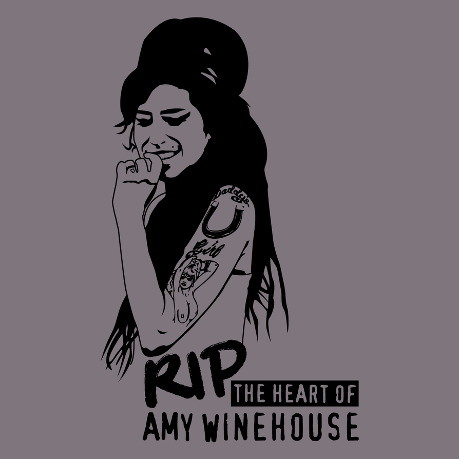 RIP The Heart of Amy Winehouse by Thaminho