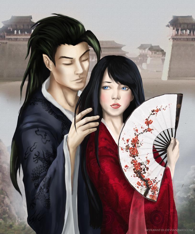 Chamiko portrait by Skyrawathi
