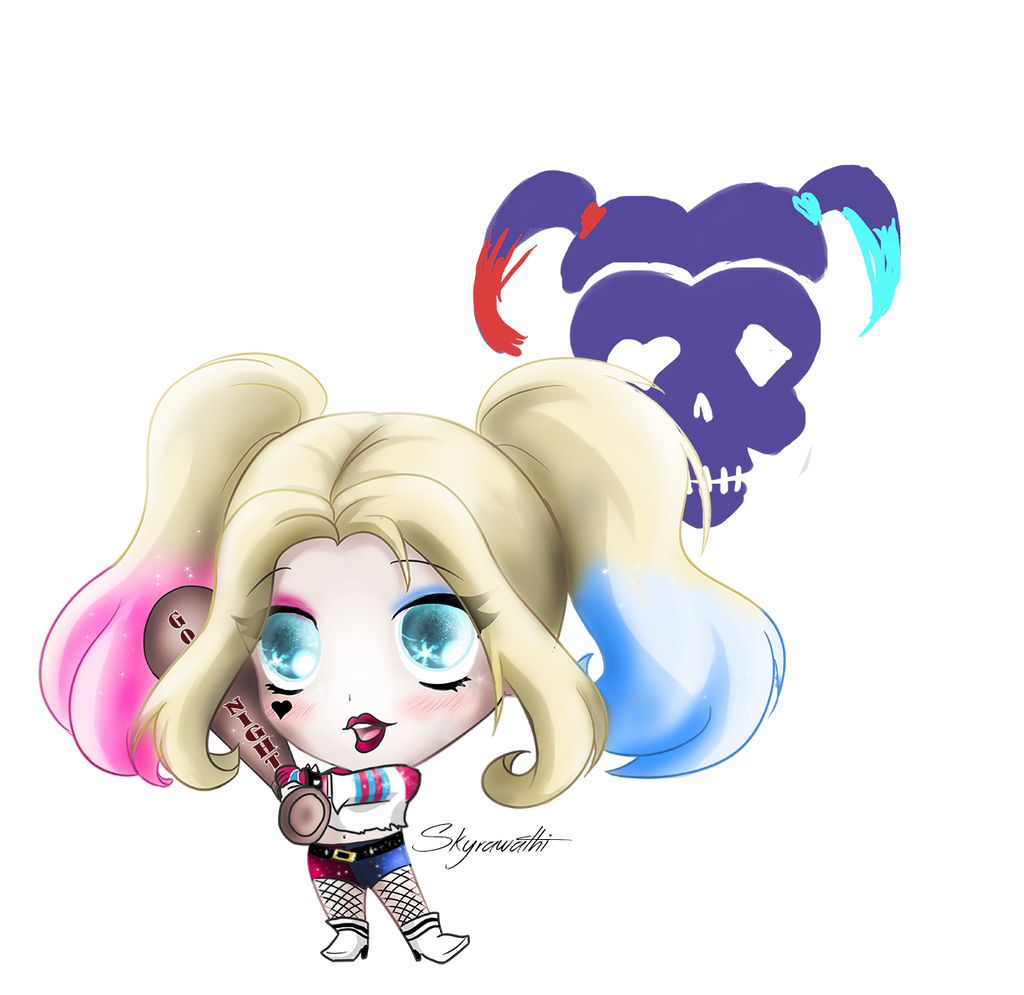 Chibi Harley Quinn By Skyrawathi On DeviantArt
