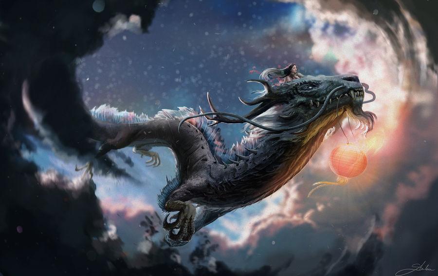 Flight on the dragon