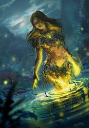 Gwent Art Contest - Vivienne's Transformation by Skyrawathi