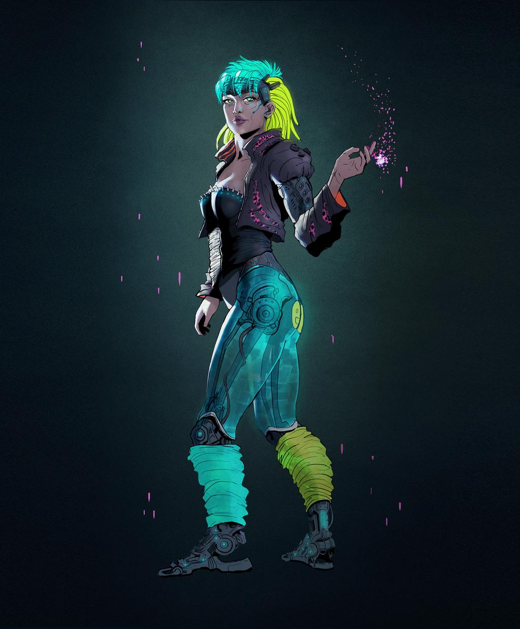 Cyberpunk by Skyrawathi