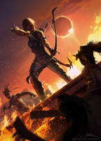 Shadow of the Tomb Raider by Skyrawathi