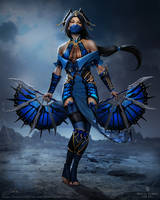 Kitana Khan - fan art by Skyrawathi