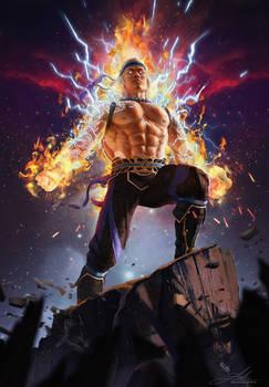 Liu Kang - God of Thunder and Fire