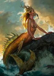 The Fish by Skyrawathi