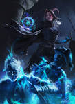 Ghost Summoner - Commission Artwork