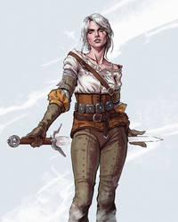 Cirilla Fiona Elen Riannon by Skyrawathi