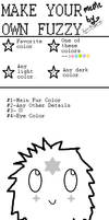 Make Your Own Fuzzy-Coloring Meme by feathery-blue-otaku