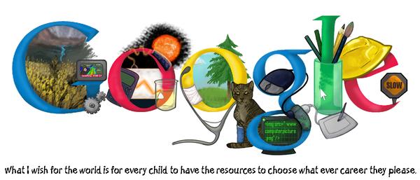 doodle for google 2009 by wolfdoom on deviantart