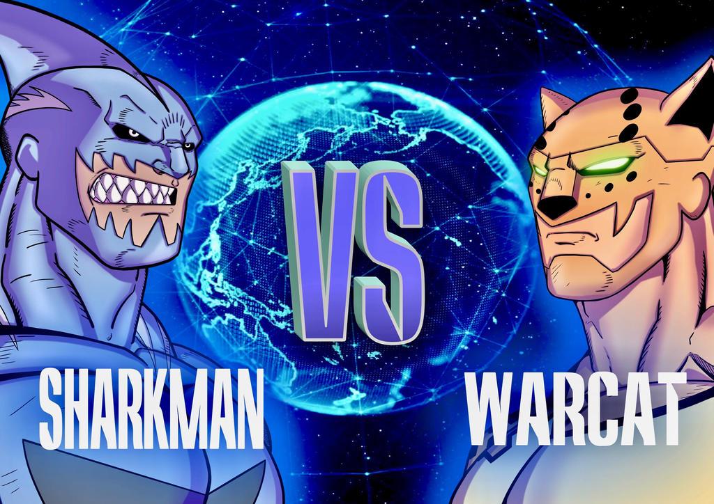 Sharkman vs Warcat by Azreal2156