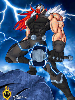 Thor The Norse God of Thunder and Lightning