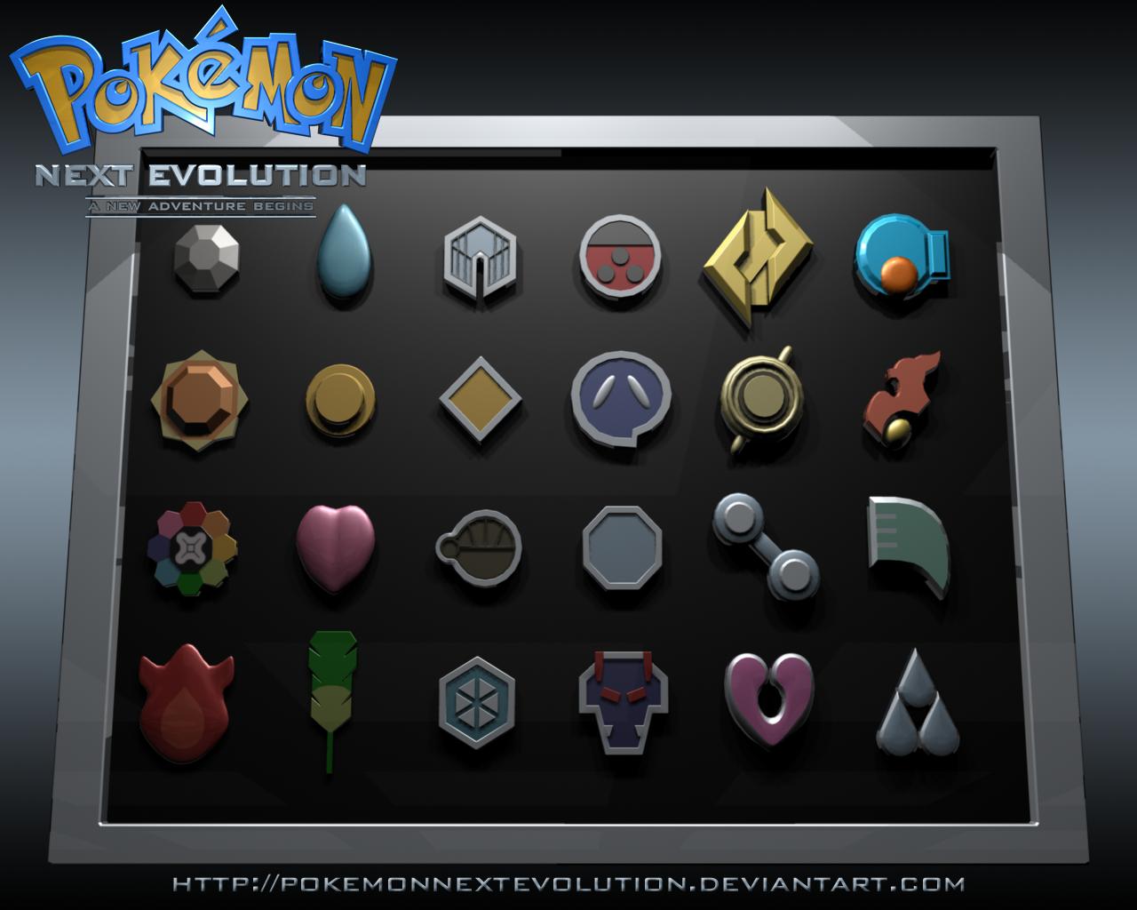 pokemon badges by PokemonNextEvolution on DeviantArt