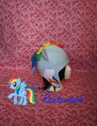 Rainbowdash My Little Pony Hat by IceDragonCosplay