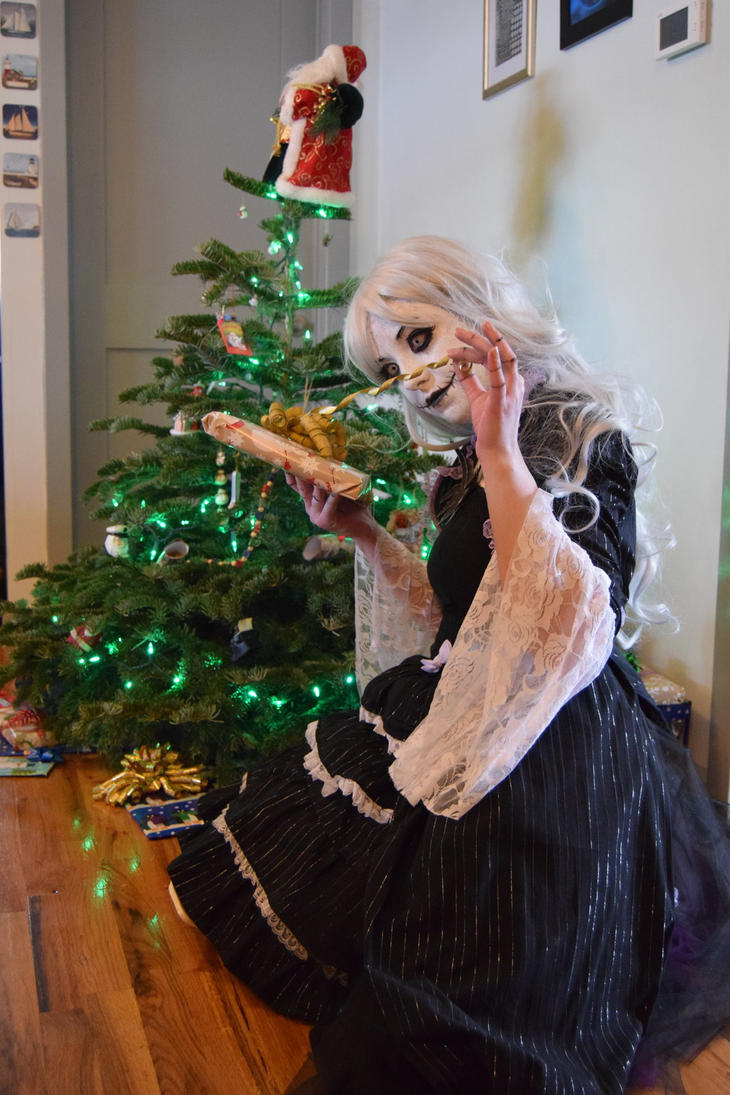 Merry Christmas from Jackie Skellington by IceDragonCosplay