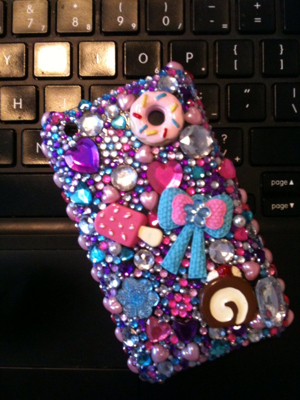 Princess Deco Iphone case by chaotickitty