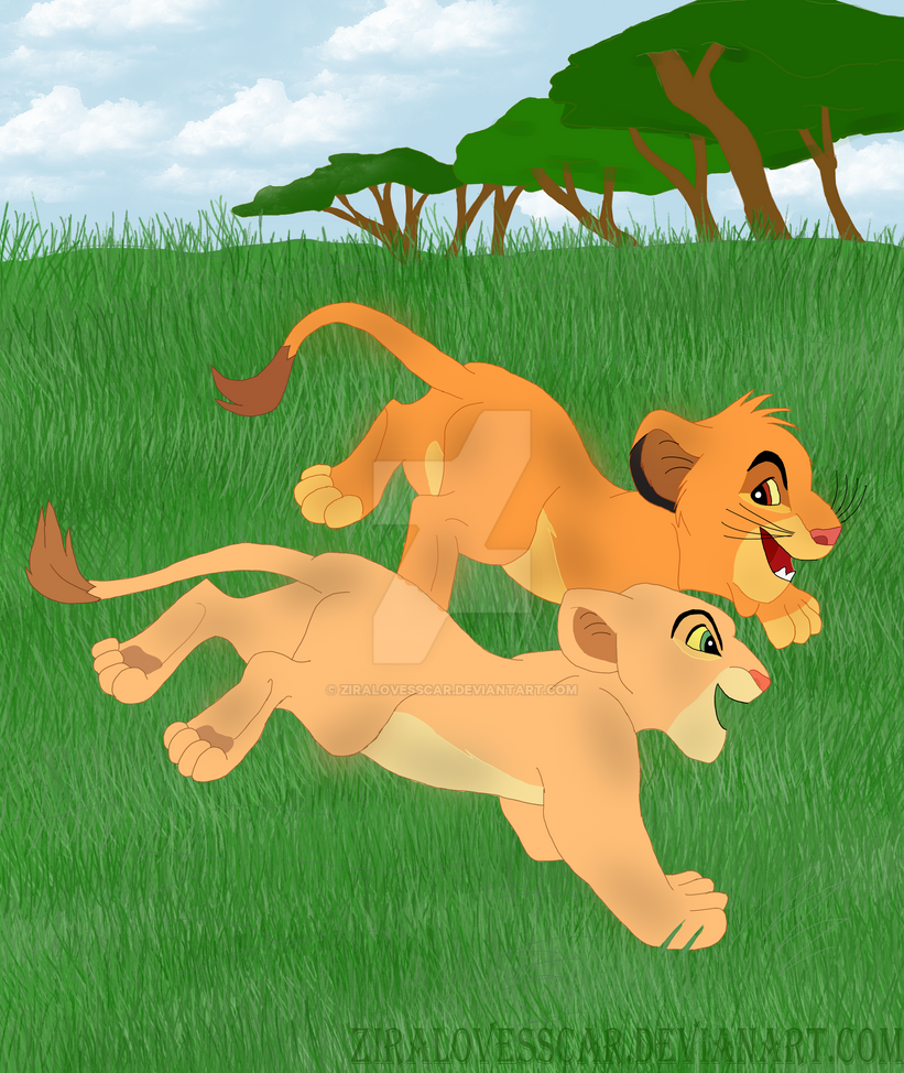 simba and nala cub by ziralovesscar on deviantart