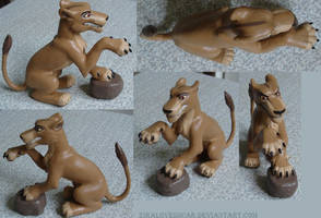 Zira figures by ZiraLovesScar