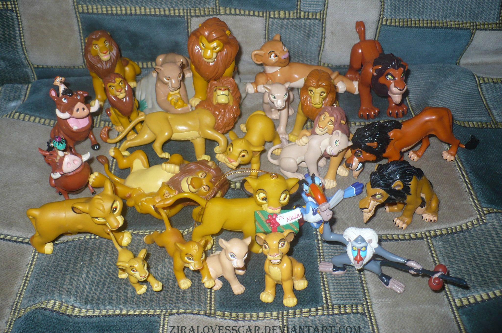 Toys R Us Lion Toys : Figures the lion king by ziralovesscar on deviantart