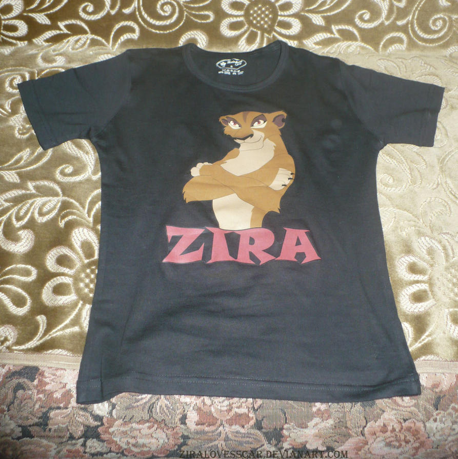 T-shirt Zira TLK by ZiraLovesScar