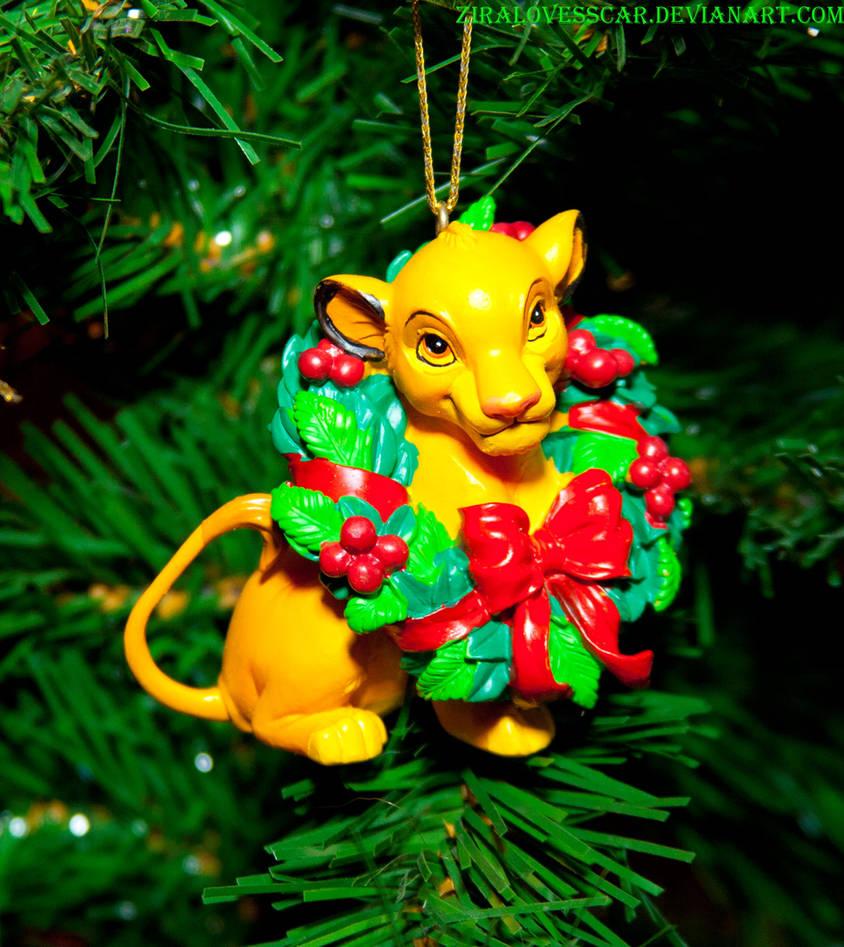 Christmas Ornament Simba Lion King By Ziralovesscar On Deviantart