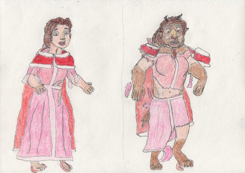 Belle turns into a Beast 2/4 by goodtimesroll44