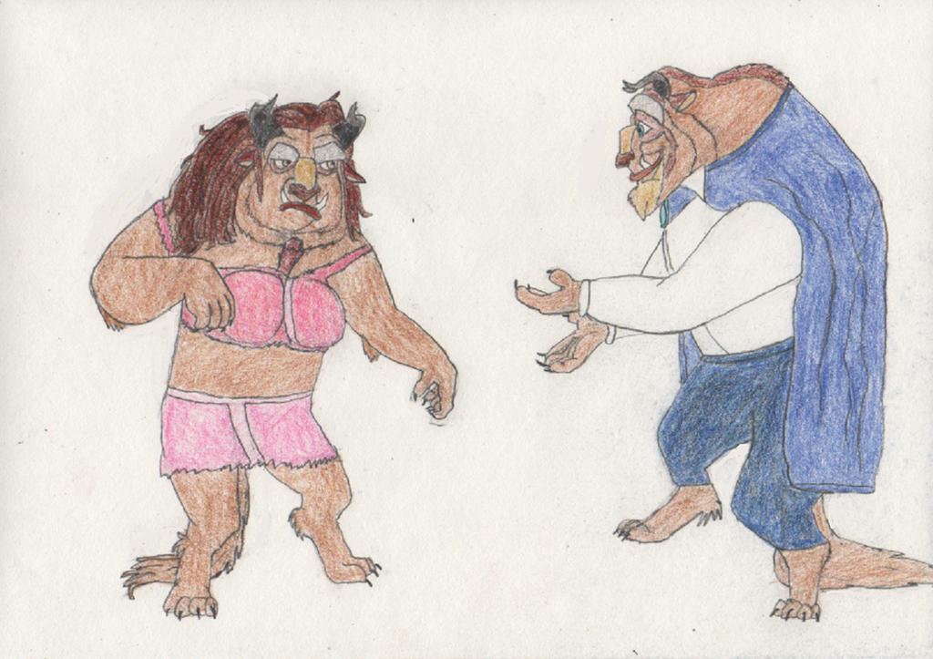 Belle turns into a Beast 4/4 by goodtimesroll44