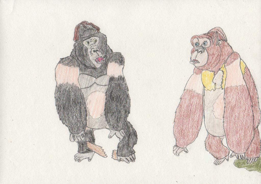 Jane and tarzan turn into gorillas 3 4 by goodtimesroll44 on deviantart - Tarzan gorille ...