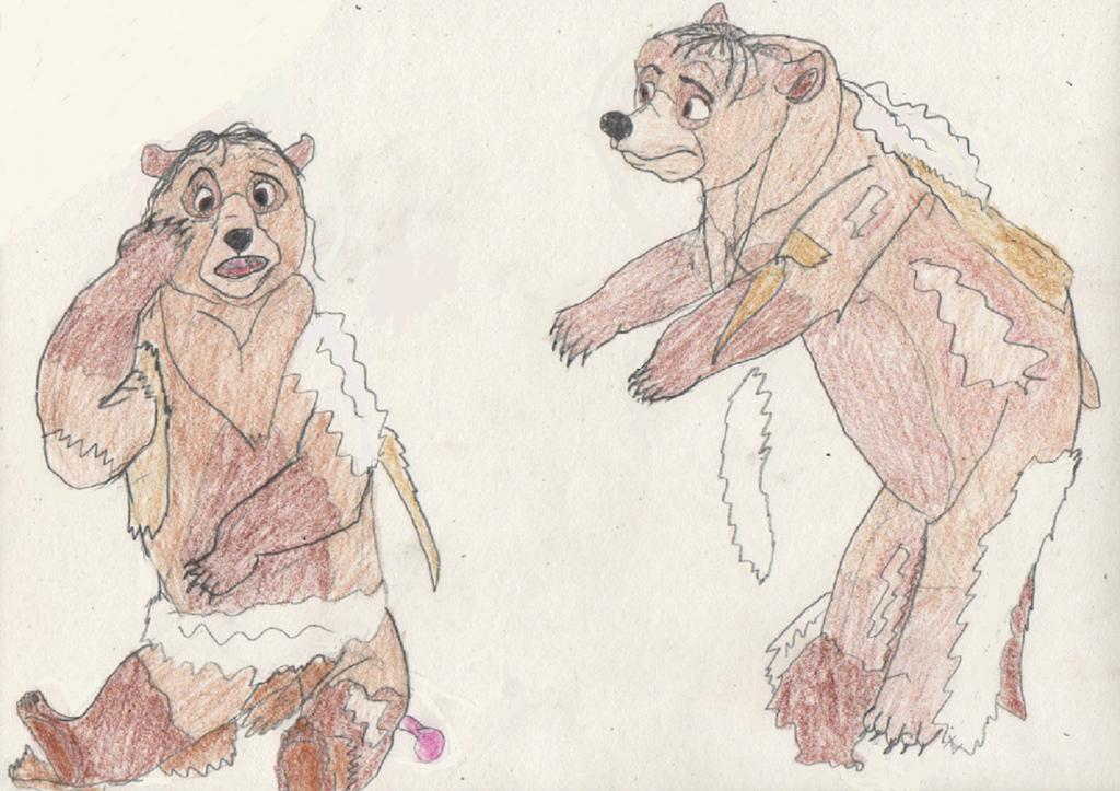 Kenai and Nita turn into Bears 2/3 by goodtimesroll44