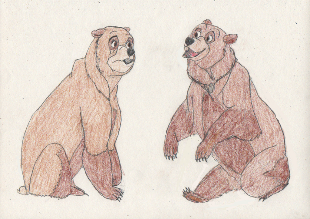 Kenai and Nita turn into Bears 3/3 by goodtimesroll44