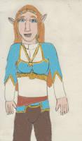 Princess Zelda turns into a Lynel 1/5