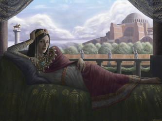 Byzantine Empress by mr-sinister2048