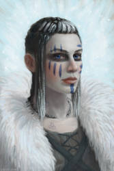 Celtic Warrior Woman by mr-sinister2048