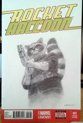 Get Carter Rocket Raccoon by mr-sinister2048